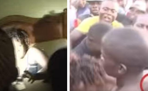 Drama as another Cheating Wife and lover get Stuck while having Sex (Watch Video)