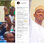 Sen. Dino Melaye finally gets his original certificate from ABU, Zaria (See Photos)
