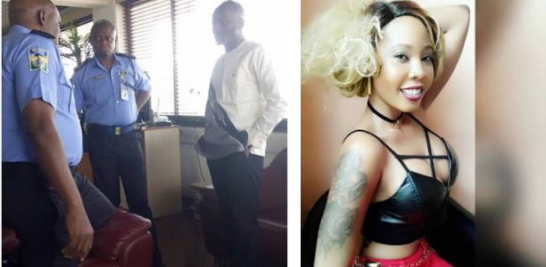Sex Scandal : Apostle Suleman pictured at Force Headquarters after Stephanie Otobo's $5m Lawsuit against him (Photos)