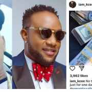 Man Exposes Singer, KCee for stealing his Stack of Dollars (A Must See)