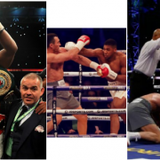Boxing : Anthony Joshua Triumphs over Wladimir Klitschko In the 11th Round (See Photos)