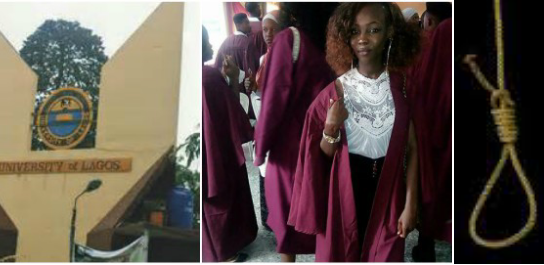 How a 100 level Student of Unilag Commited Suicide after being disgraced by her Room Mates (Full Story + Photos)