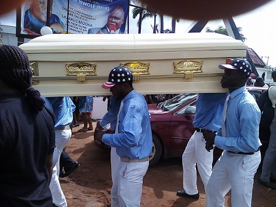 Photos from burial Ceremony of U.S Army Veteran killed by Gunmen in Imo State
