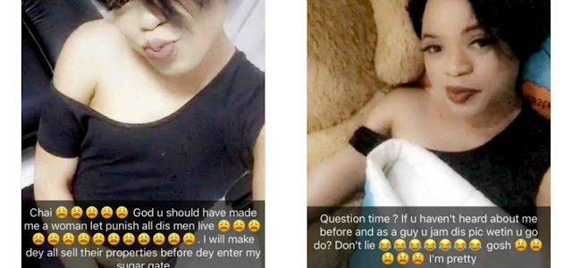 Bobrisky gushes over his new Look, wishes he was Created a Woman (See Photos)