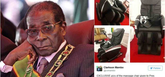 Twitter Users Ridicule President Mugabe Who's Allegedly Ruling from a Wheelchair (A Must See)