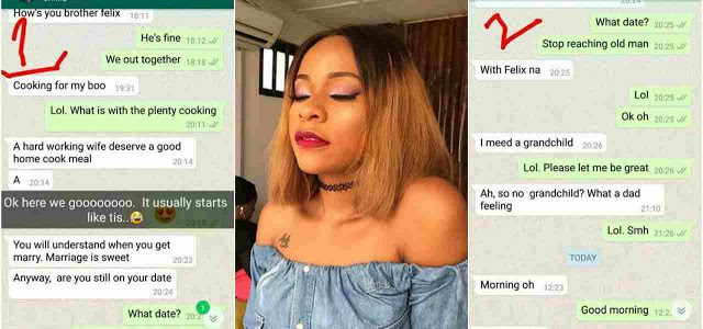 Hilarious Chat between a Nigerian TV Presenter and her Dad who Needs a grandchild by Force