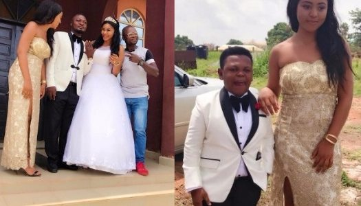Regina Daniels & Osita Iheme Serve as Maid of honour & Best man as Prince Nwafor Weds (See Photos)