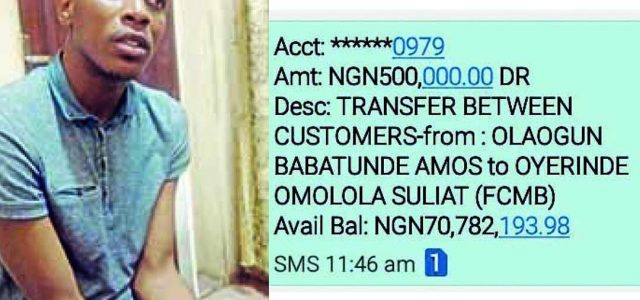 See how a Lagos Civil Servant used fake Bank statements, Alerts to Collect multi-Million naira Loans