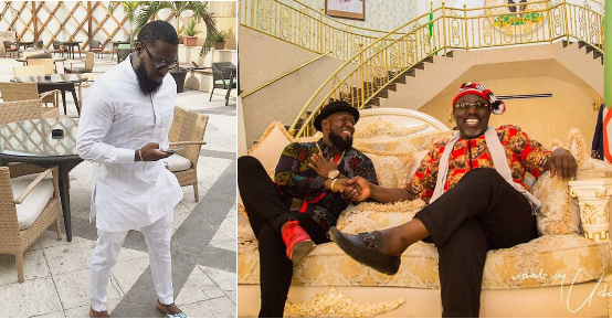 See what Timaya did to a Female fan who tried to Correct his English error as he Posed with Rochas (No chill)