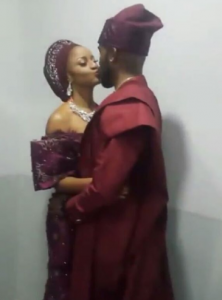 See First Photos from Banky W & Adesua Etomi Marriage Introduction