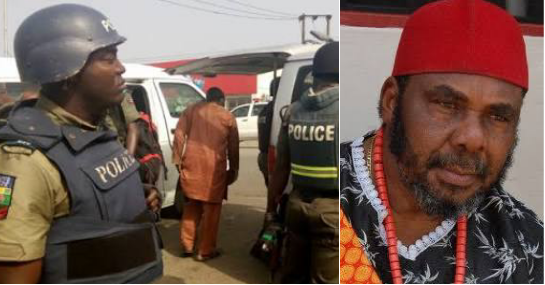 See why Nollywood Actor, Pete Edochie's 70-year-old brother, others were Arrested by the Police in Anambra State