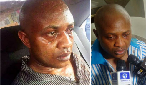 "Notorious ""Billionaire"" Kidnapper Evans breaks down as he is placed in Prison with ""common poor criminals"""