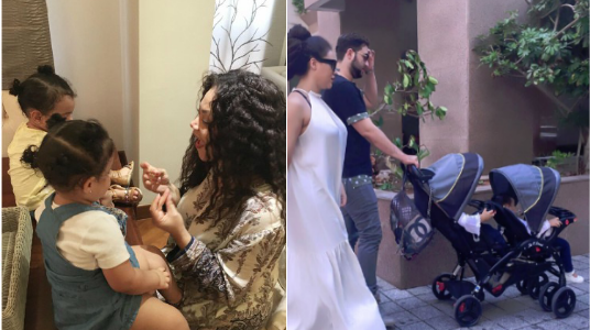 Finally Nadia Buari shares a photo of her baby daddy for father's day (See Photos)
