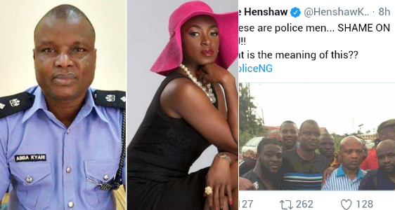 Nigerian detective who led Evans' Arrest Fires shot at actress, Kate Henshaw for Mocking the Police and it's Epic !!!