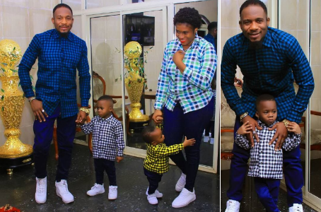 Actor Junior Pope and wife celebrate 3rd Wedding Anniversary with adorable family Photos (See Pictures)