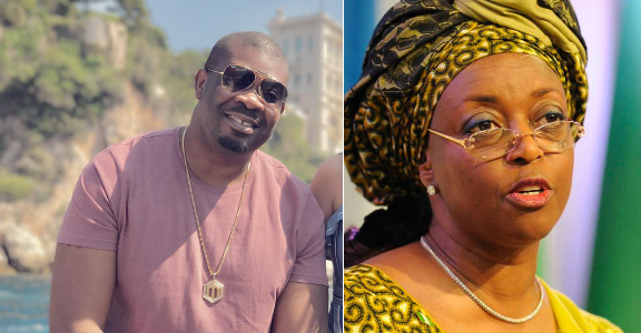 Don Jazzy Reacts to news of Diezani Alison Madueke's alleged $90 billion Loot Recovery (A Must See)