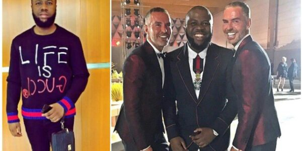 """I am your King"" -Hushpuppi brags, slams Nigerians who criticize him after Pictured with designers Dsquared2"