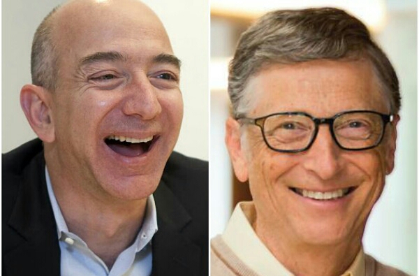 Bill Gates dethrones Amazon boss Jeff Bezos hours after becoming World's Richest Person
