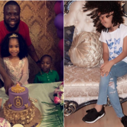 Hushpuppi celebrates his daughter's birthday in UAE; Is that his babymama? (See Photos)