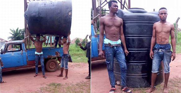 For stealing tank, here's what Vigilantes made bricklayer and his accomplice do (Photos)