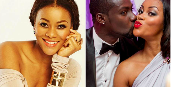 Actress Damilola Adegbite officially reacts to rumours that her marriage to Chris Attoh has crashed