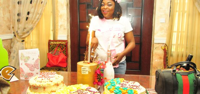 PHOTOS /VIDEO FROM FUNKE AKINDELE-BELLOS SUPRISE PARTY