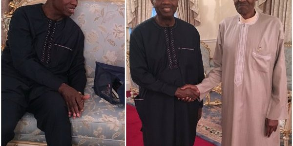 Pastor Adeboye Visit Buhari In London